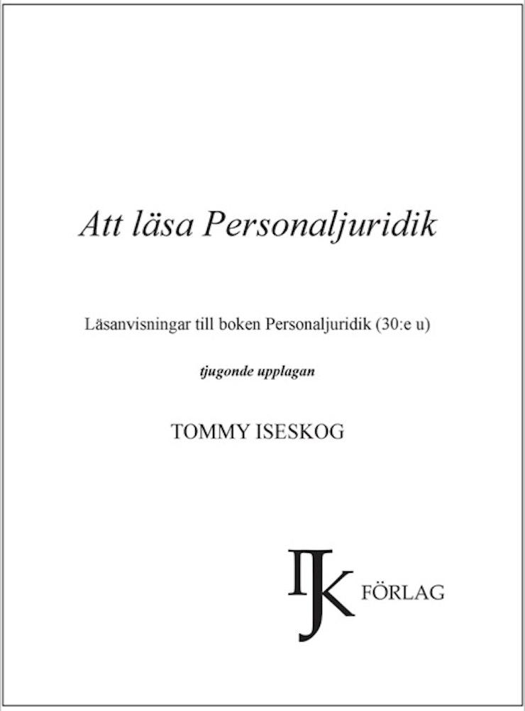 Att läsa personaljuridik - 2018 års upplaga!